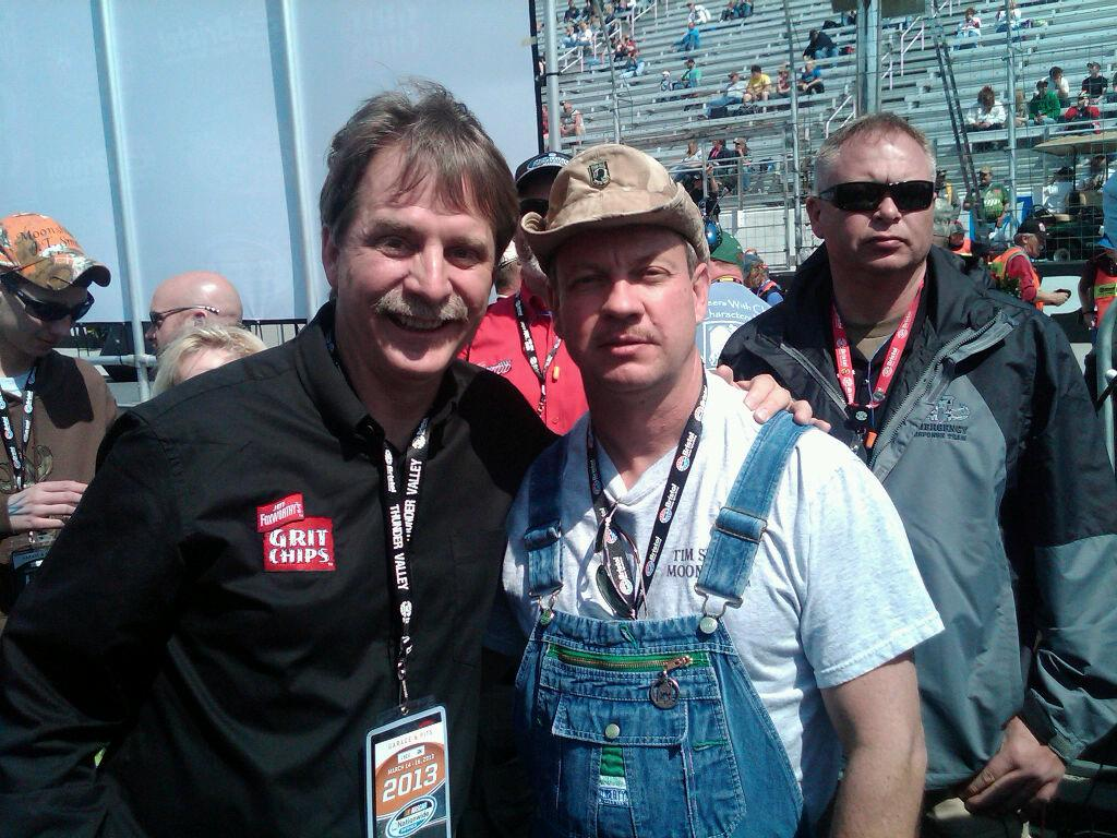 Tim meets Jeff Foxworthy